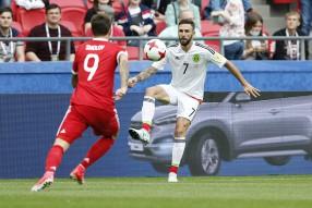 Мексика - Россия 2-1