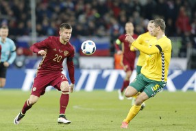 Россия - Литва 3-0