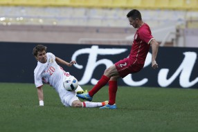 Россия - Сербия 1-1 Товарищеская встреча . Монако