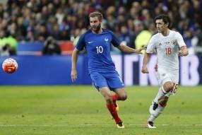 Франция - Россия 4-2
