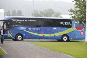Тренировка сборной России 06.06.2016