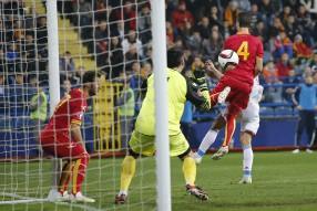 Черногория - Россия (матч прерван)