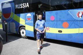 Тренировка сборной России 09.06.2016