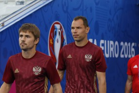 Тренировка сборной России 10.06.2016