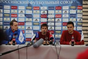 Тренировка сборной России 12.06.2016
