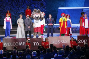 Official Draw FIFA Confederation Cup RUSSIA 2017