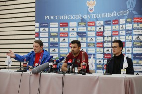 Тренировка сборной России 16.06.2016