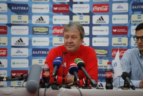 Тренировка сборной России 17.06.2016