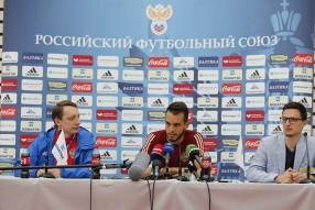 Тренировка сборной России 18.06.2016