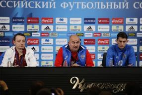 Тренировка сборной России в Краснодаре 23.03.2017