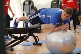 Тренировка сборной России 25.05.2016 Bad Ragaz