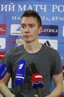 Тренировка сборной России 12.11.2015 года