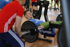 Тренировка сборной России 27.05.2016 Bad Ragaz