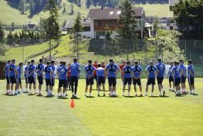 Тренировка сборной в Австрии 28.05.2017