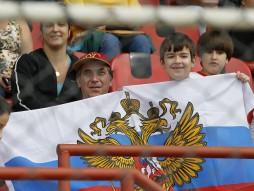 Тренировка сборной России 10.06.2014