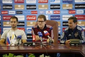 Тренировка сборной России и пресс-конференция 06.0 ...
