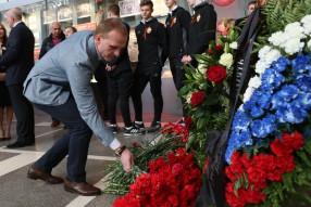 Футбольная семья почтила память ветеранов Великой  ...