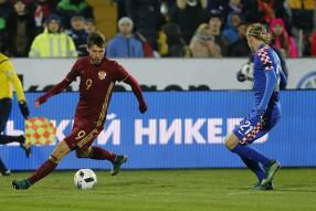 Россия - Хорватия 1-3