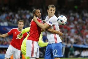 Россия - Уэльс 0:3