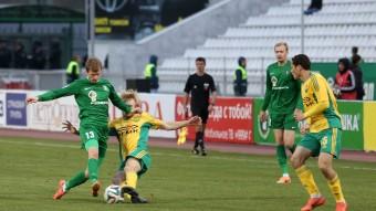 Кубань - Томь 2:0
