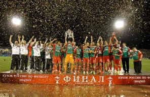 Победа «Локомотива» в финале Кубка России