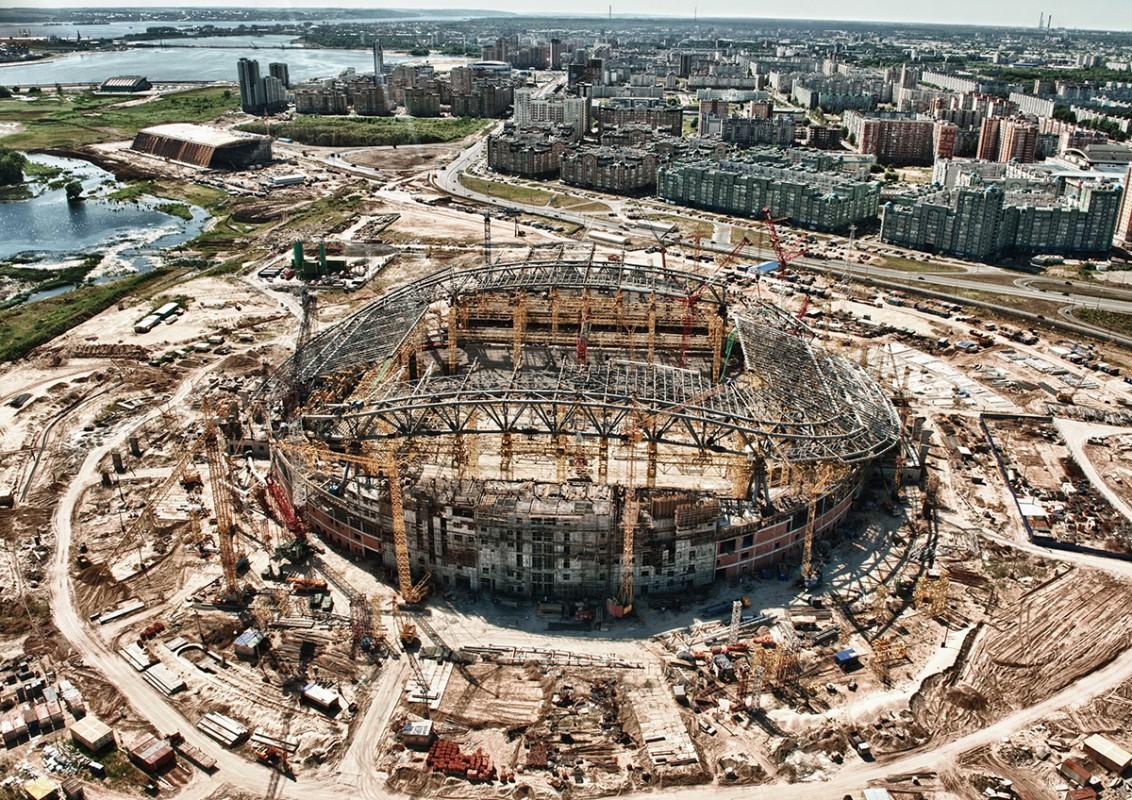 этом строящиеся стадионы россии фото них, словно